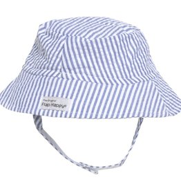 Flap Happy Bucket Hat Chambrey Seersucker