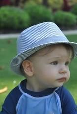 Flap Happy Fedora Chambrey Stripe