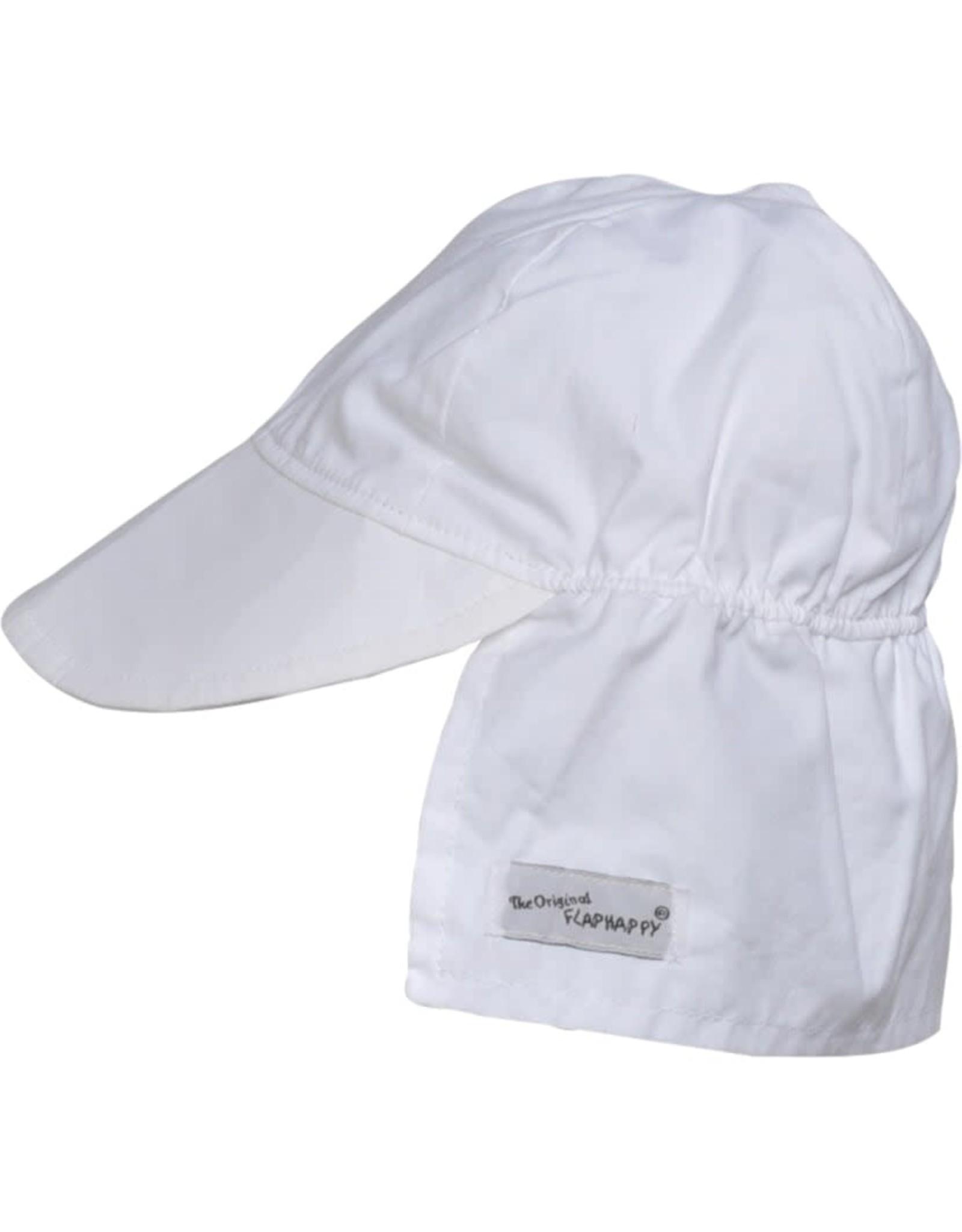 Flap Happy Flap Hat White