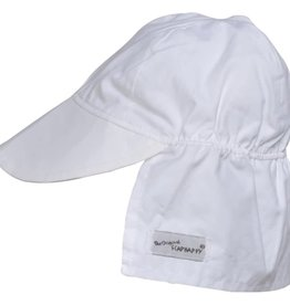 Flap Happy Flap Hat White