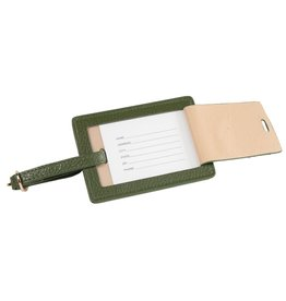 Brouk & Co Luggage Tag Stanford Forest Green