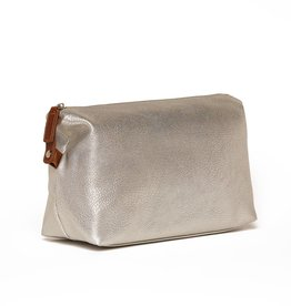 Brouk & Co Croft Dopp Kit Bright Silver