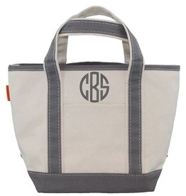 Open Top Tote Grey