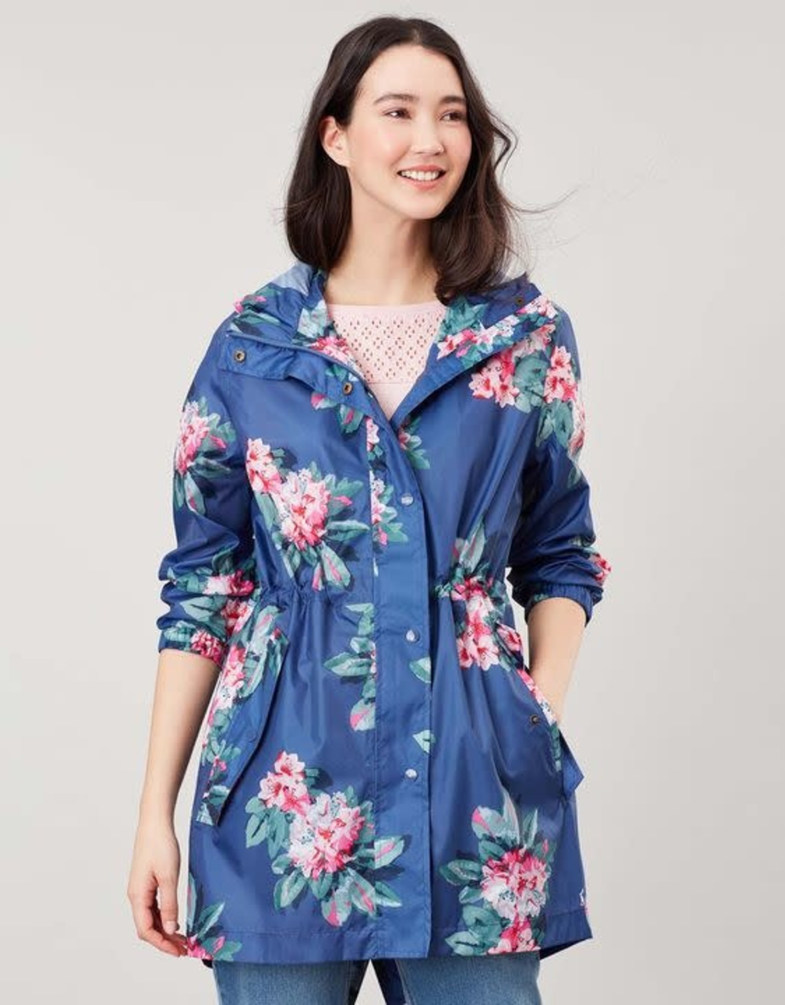 Joules Go Lightly Blue Floral