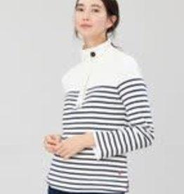 Joules Sweatshirt Cream Navy Star
