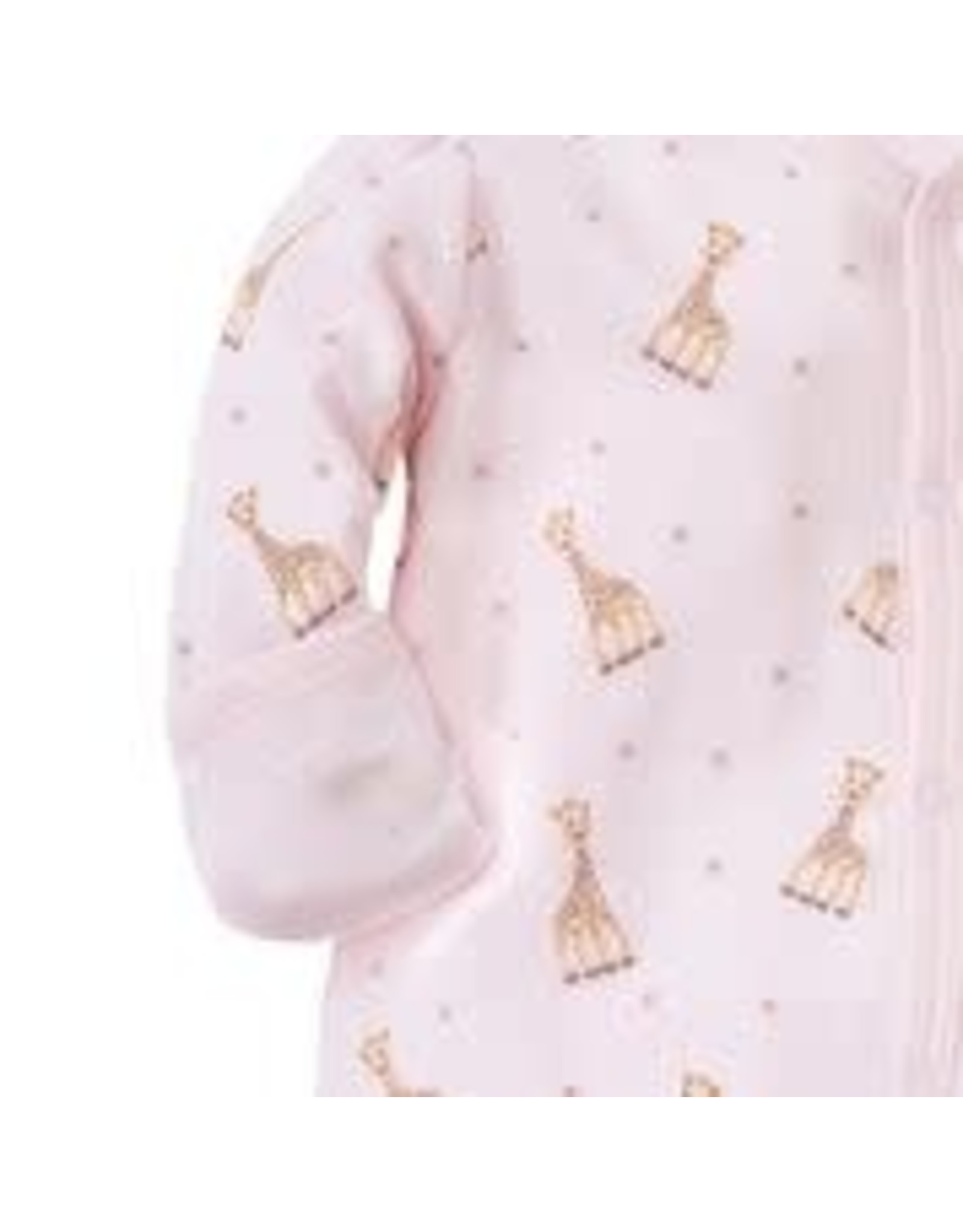 Kissy Kissy Playsuit Sophie the Giraffe Pink