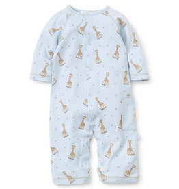 Kissy Kissy Playsuit Sophie the Giraffe Blue