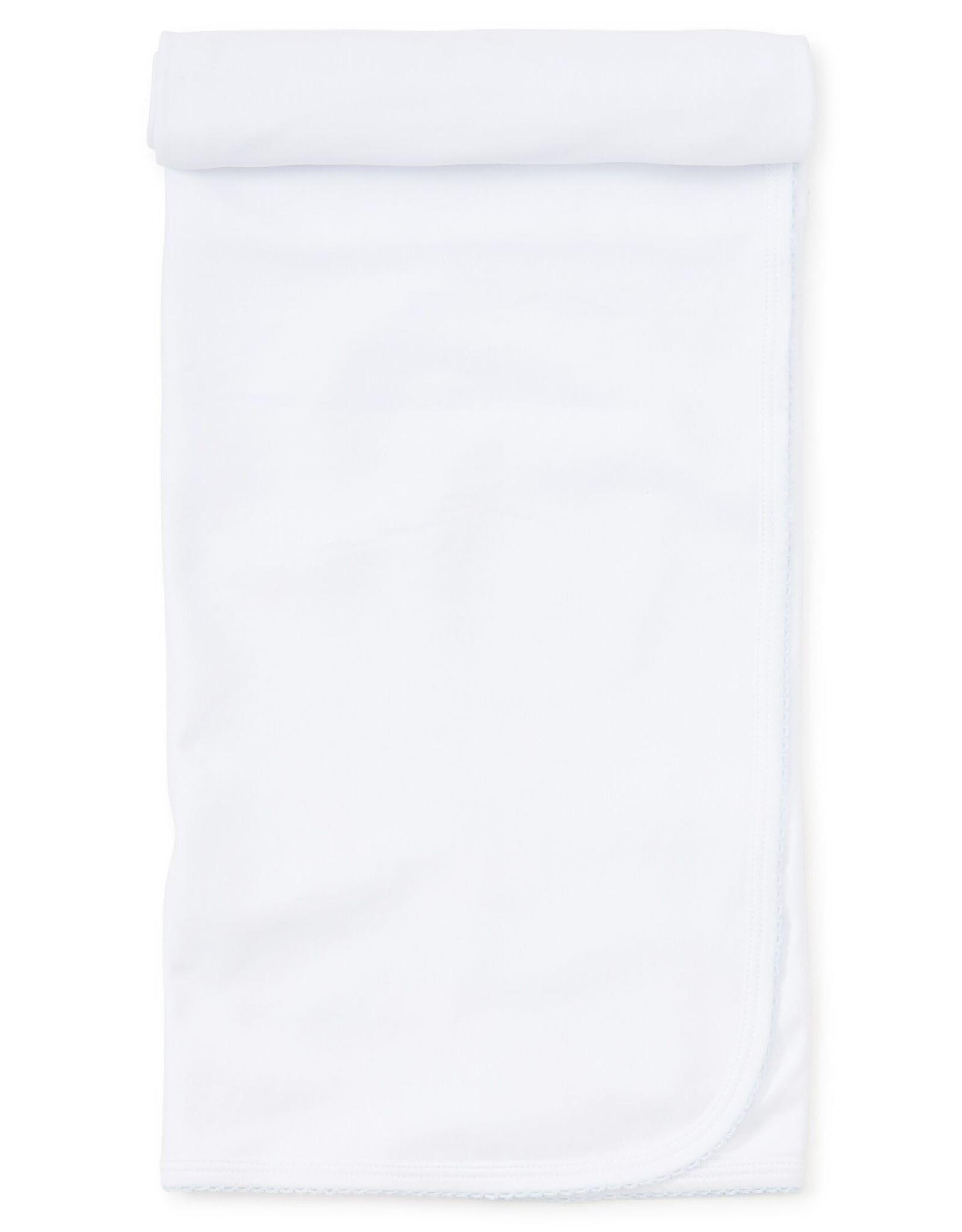 Kissy Kissy Basic Blanket White/Blue