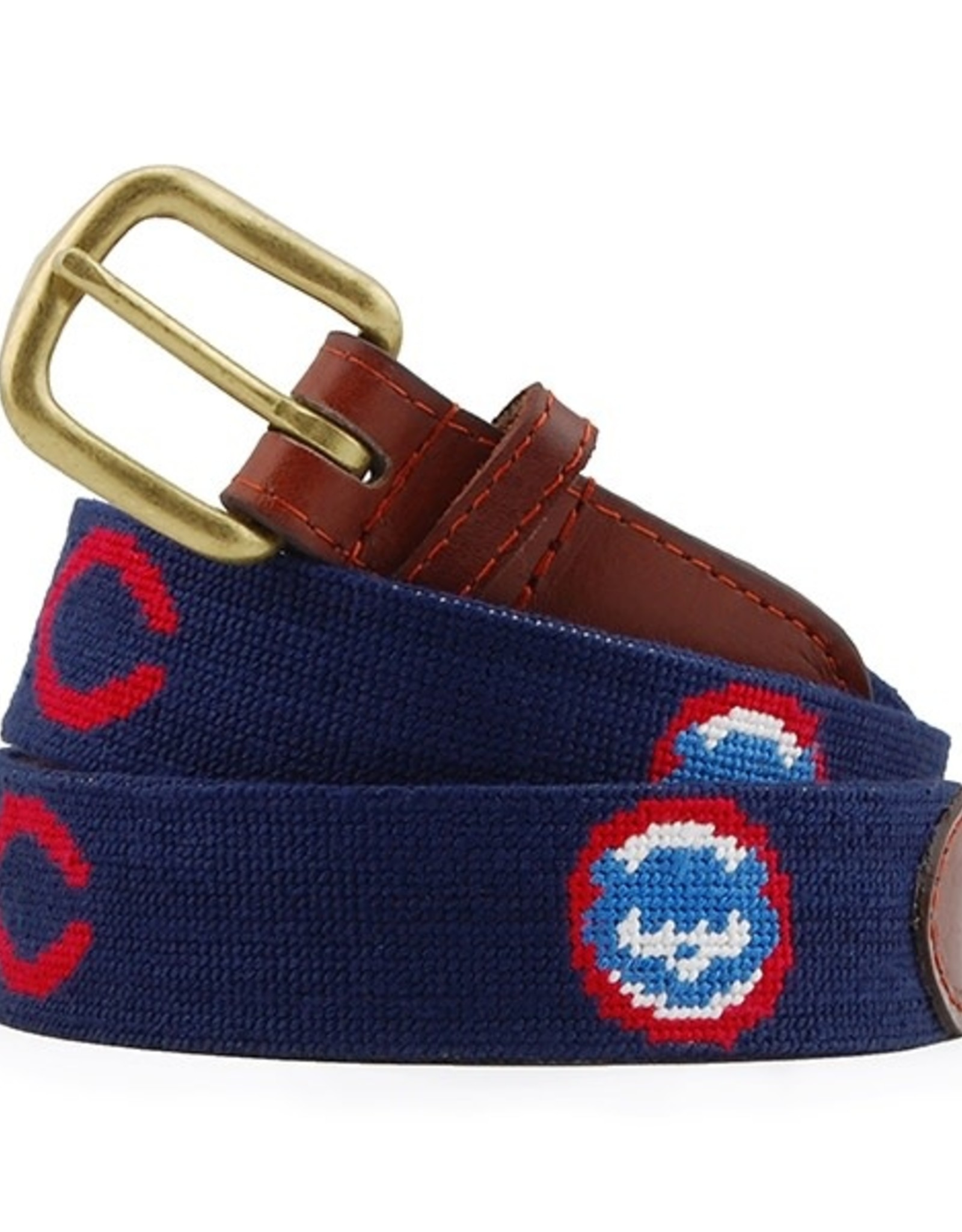 Smather's & Branson Belt Chicago Cubs Cooperstown
