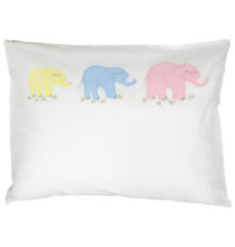 gerbrend Creations Three Elephants Pillow