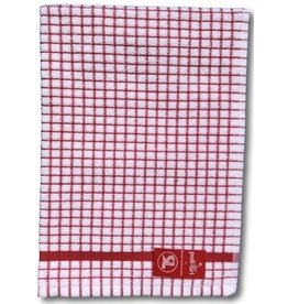 Poli-Dry Terry Kitchen Towel Red