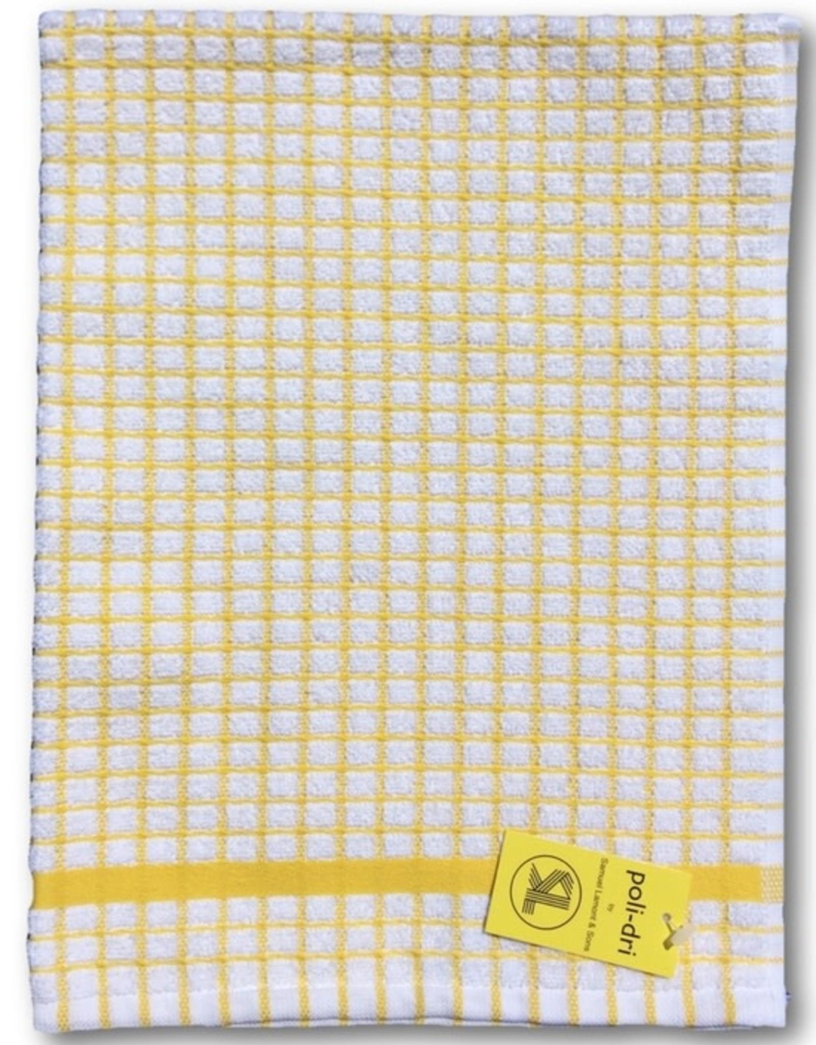 Poli-Dry Terry Kitchen Towel Yellow
