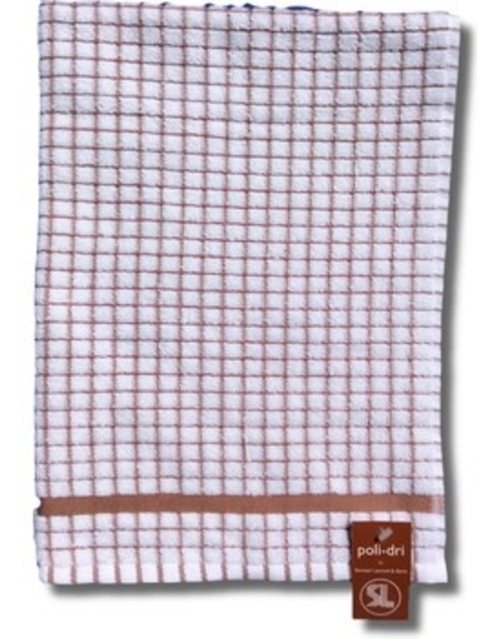 Poli-Dry Terry Kitchen Towel Tan