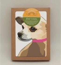 Paper Russells Tea Towel Chihuahua