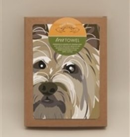 Paper Russells Tea Towel Cairn Terrier