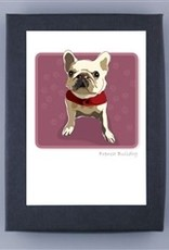 Paper Russells French Bulldog White