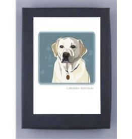 Paper Russells White Lab Head Shot