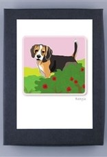 Paper Russells Beagle Tail Up