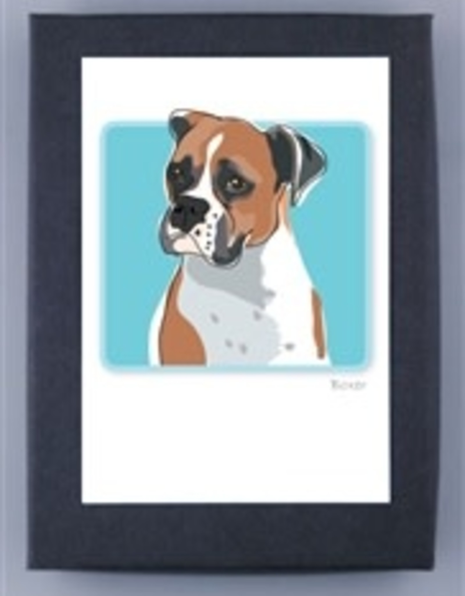 Paper Russells Boxer Head 1