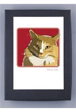 Paper Russells Brown Cat Head Shot
