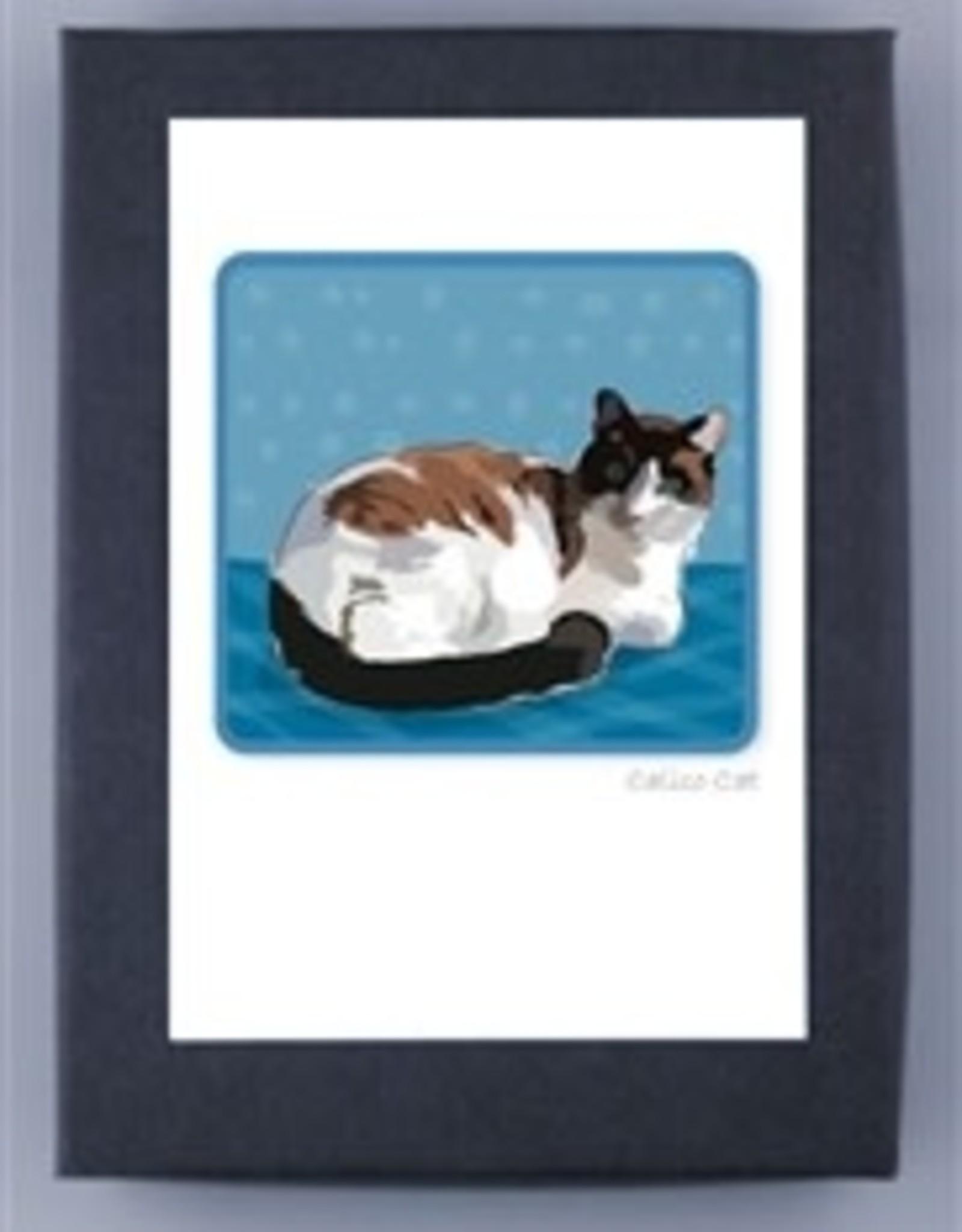 Paper Russells Calico Cat