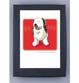 Paper Russells Old English Sheep Dog