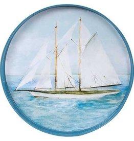 """Rockflowerpaper Tray Summer Sail 15"""""""