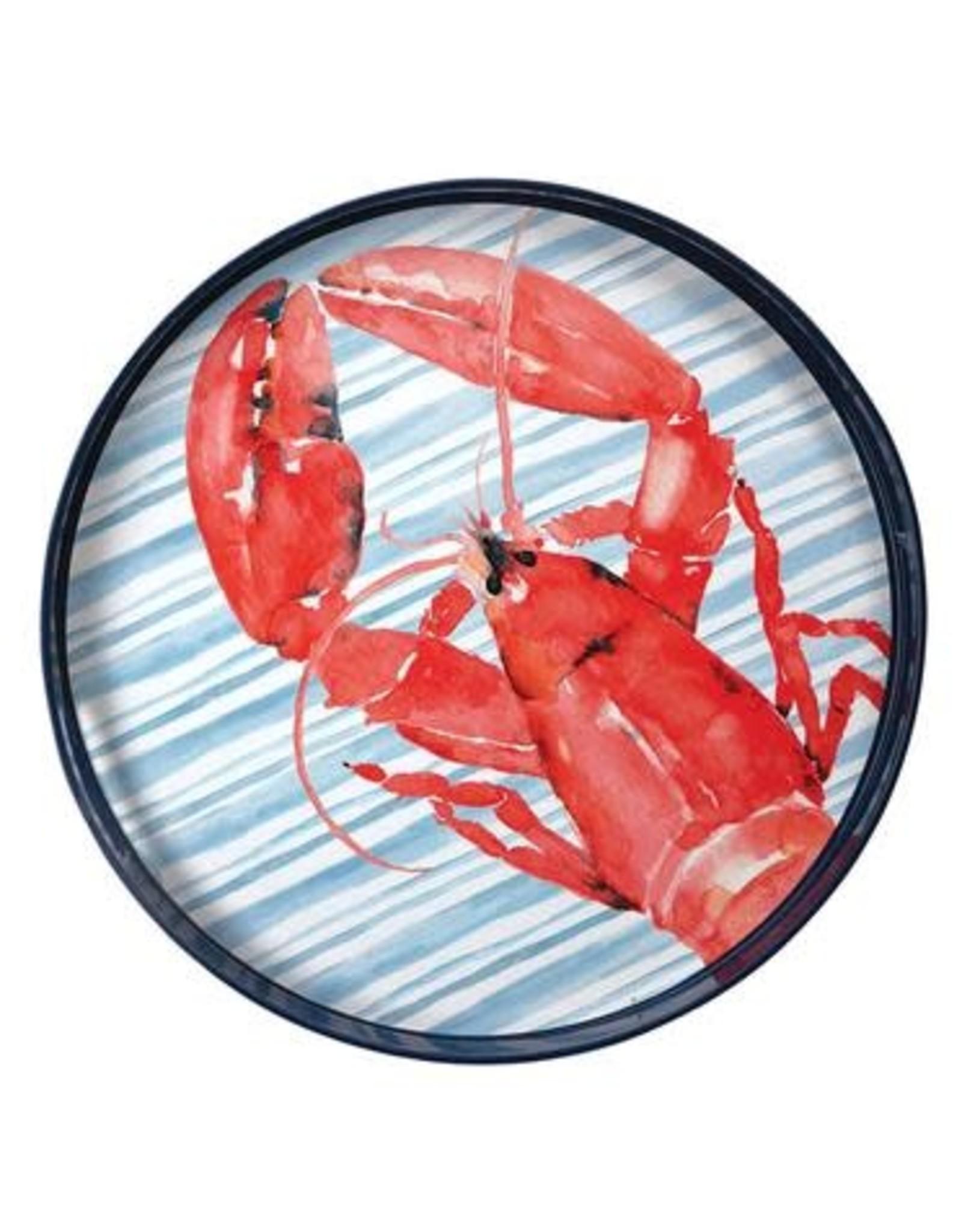 """Rockflowerpaper Tray Red Lobster 15"""""""