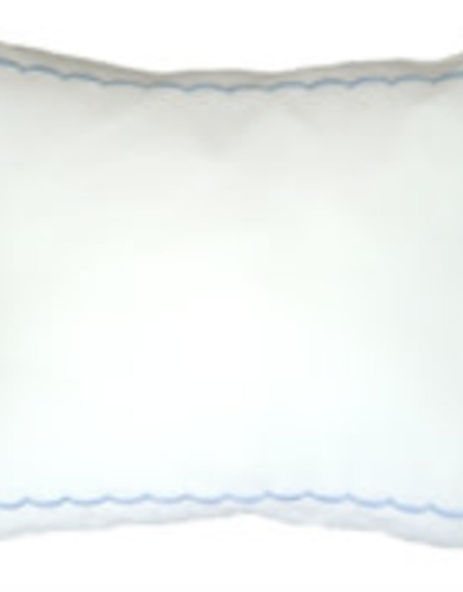 """gerbrend Creations Pillow Blue Scallop 9""""x12"""""""