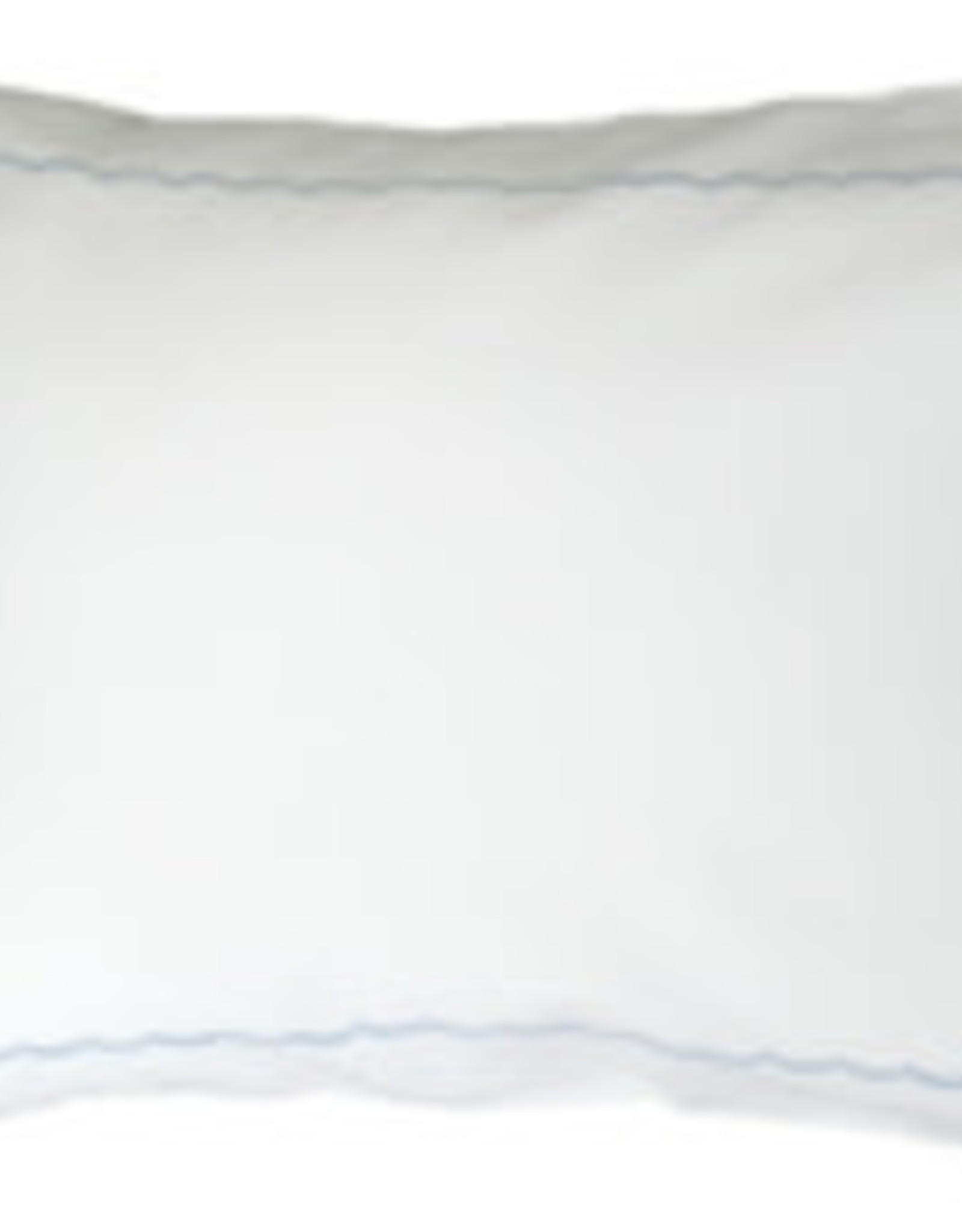 gerbrend Creations Pillow Light Blue Interior Scallop