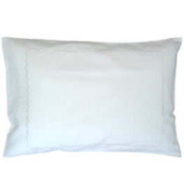gerbrend Creations Pillow White Interior Scallop