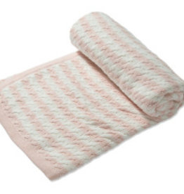 Angel Dear Sherpa Blanket Pink