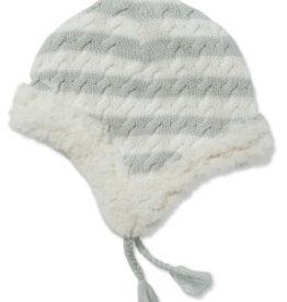 Angel Dear Sherpa Pilot Hat Gray