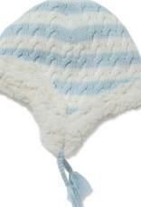 Angel Dear Sherpa Pilot Hat Blue