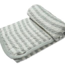 Angel Dear Sherpa Blanket Grey