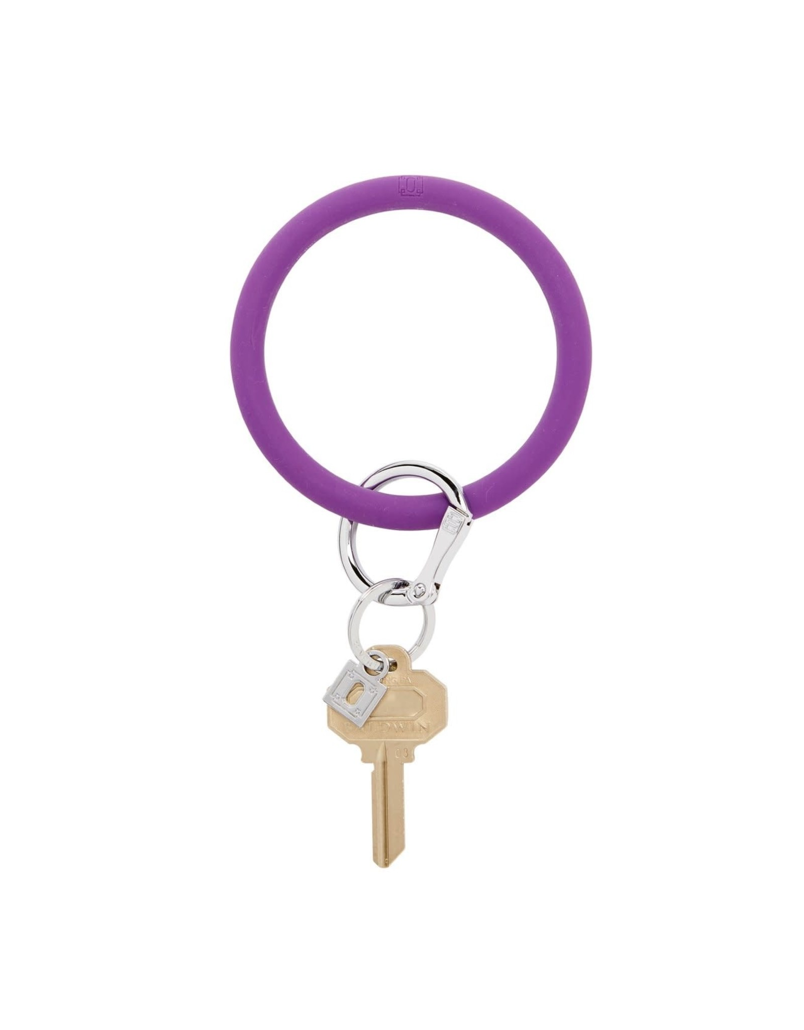 O Ventures Silicone O Ring Deep Purple