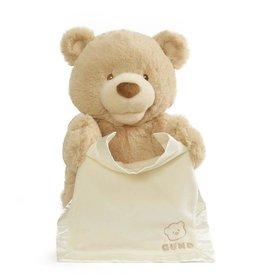 Gund Peek a boo Bear My First Cream