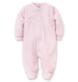 Kissy Kissy Footie Pink Stripe