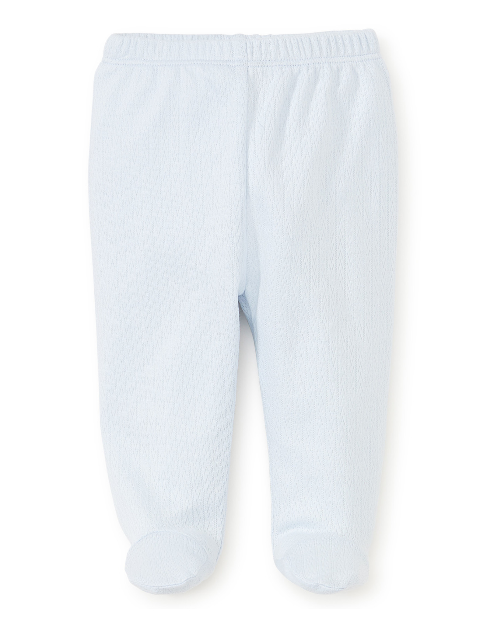 Kissy Kissy Pointelle Footed Pant  Blue