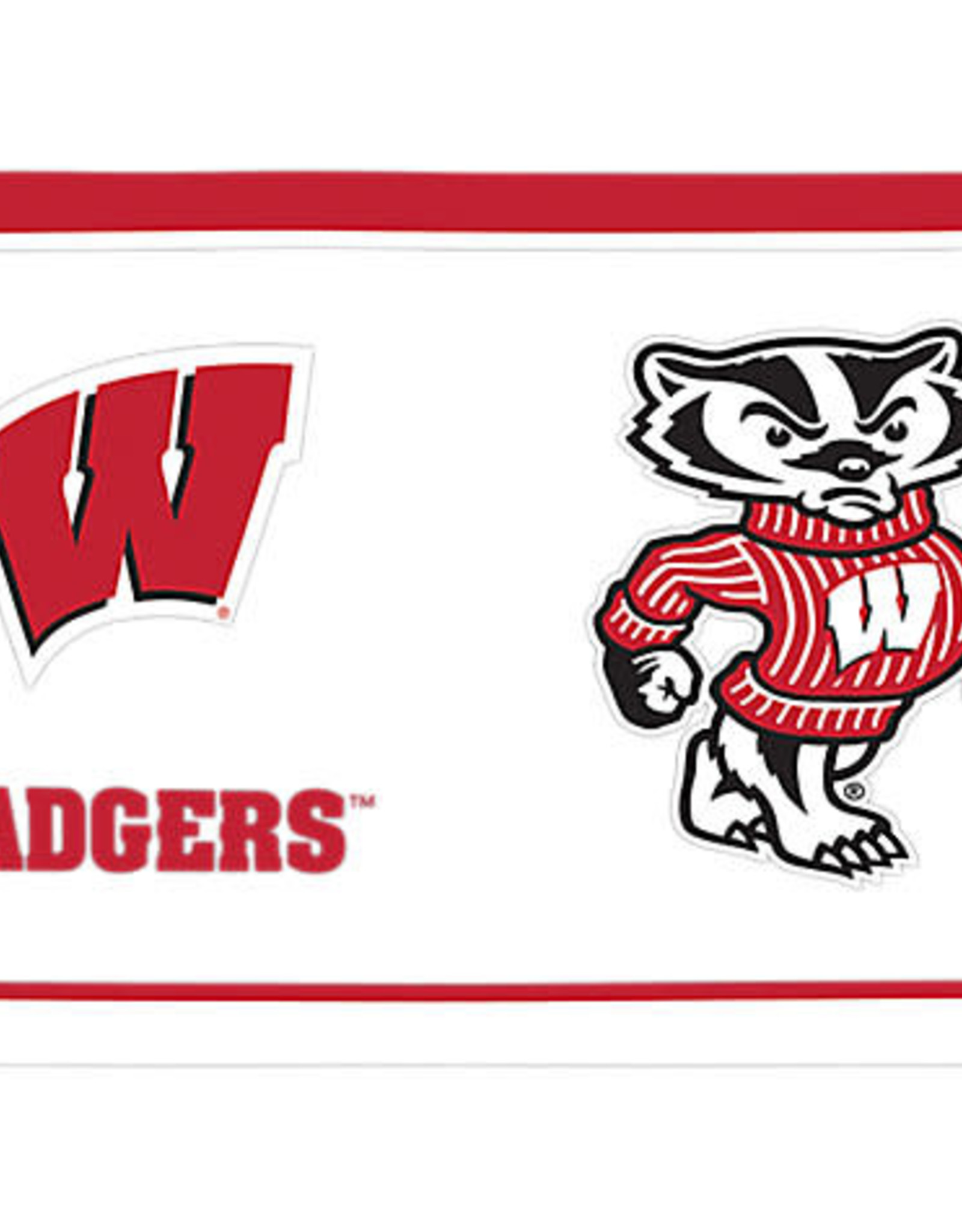 Tervis Tumbler 16oz/lid Wisconsin Badgers Tradition