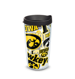 Tervis Tumbler 16oz Iowa Allover/lid