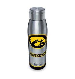 Tervis Tumbler 17oz Stainless Slim Water Bottle Iowa