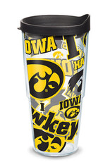 Tervis Tumbler 24oz/Lid Iowa All Over