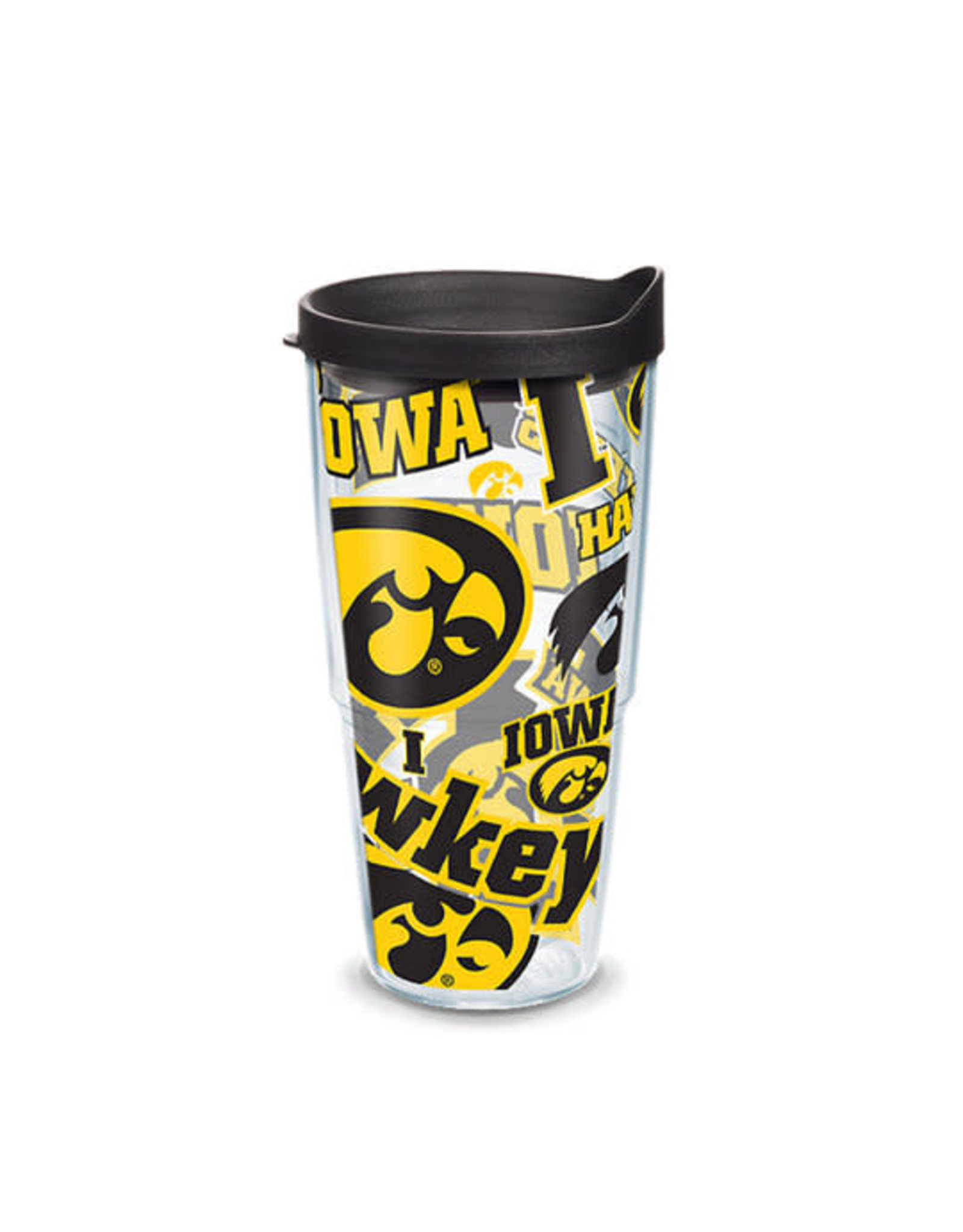 Tervis Tumbler 24oz/Lid Iowa All Over