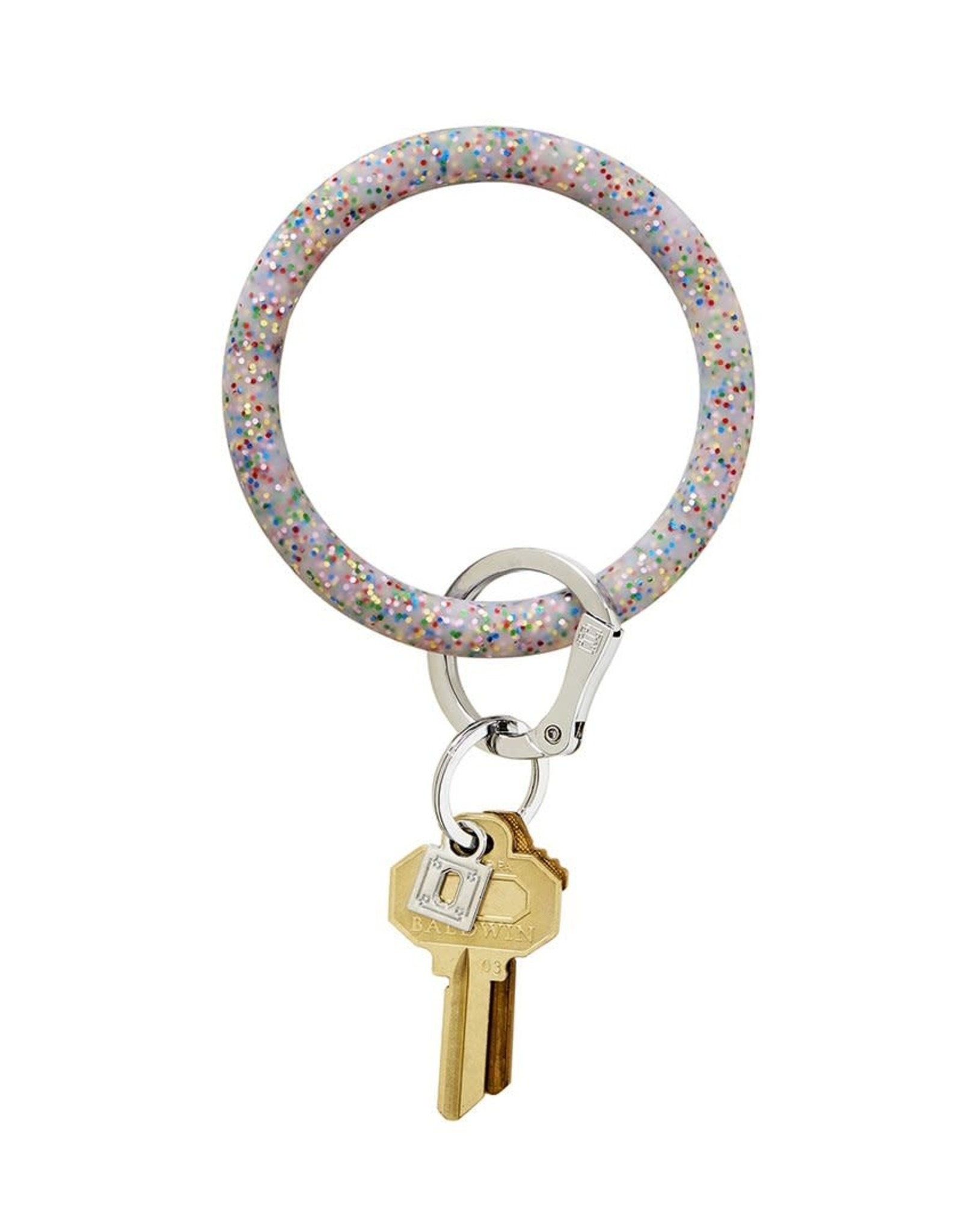 O Ventures Silicone O Ring Rainbow Confetti