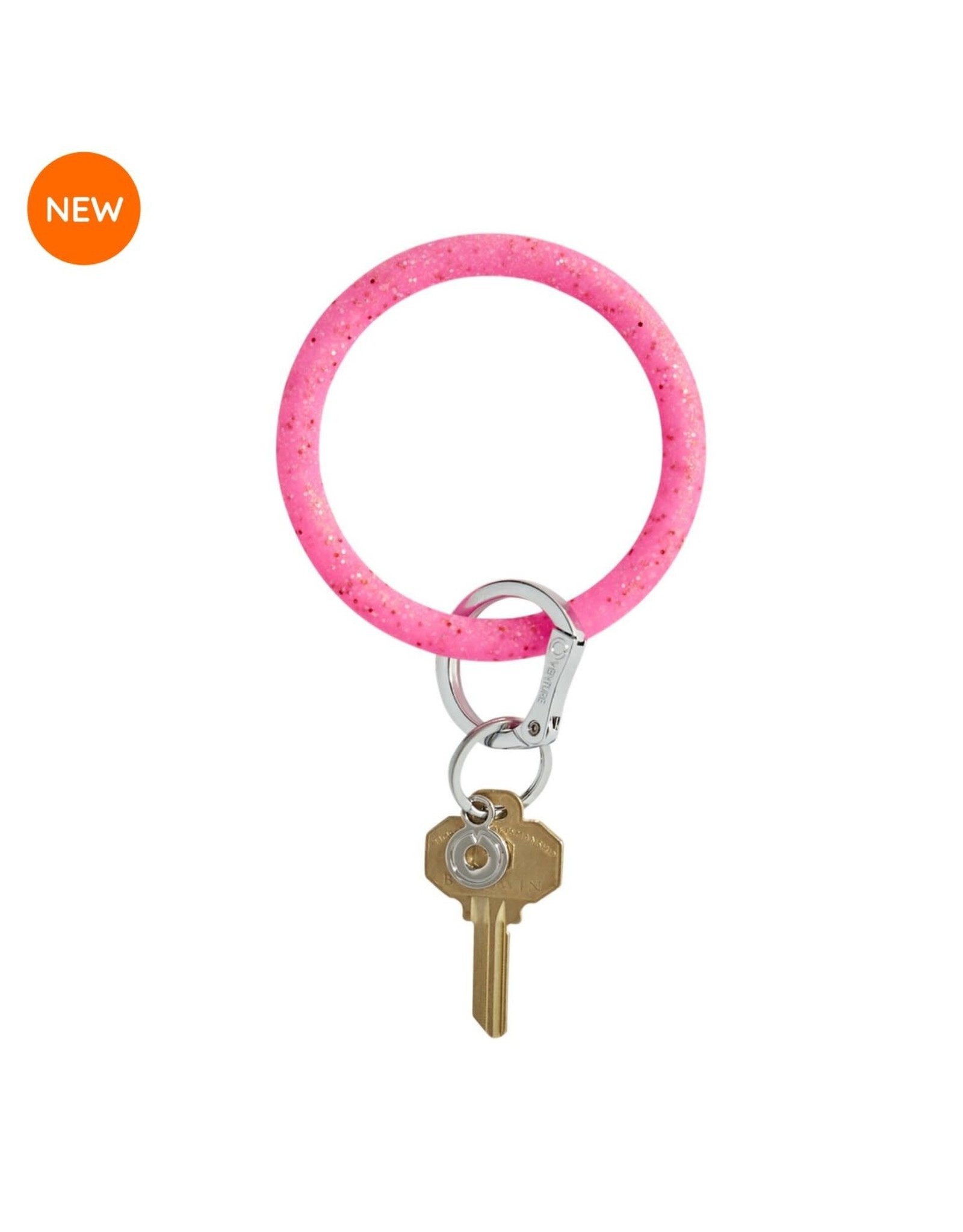 O Ventures Silicone O Ring Tickled Pink Confetti