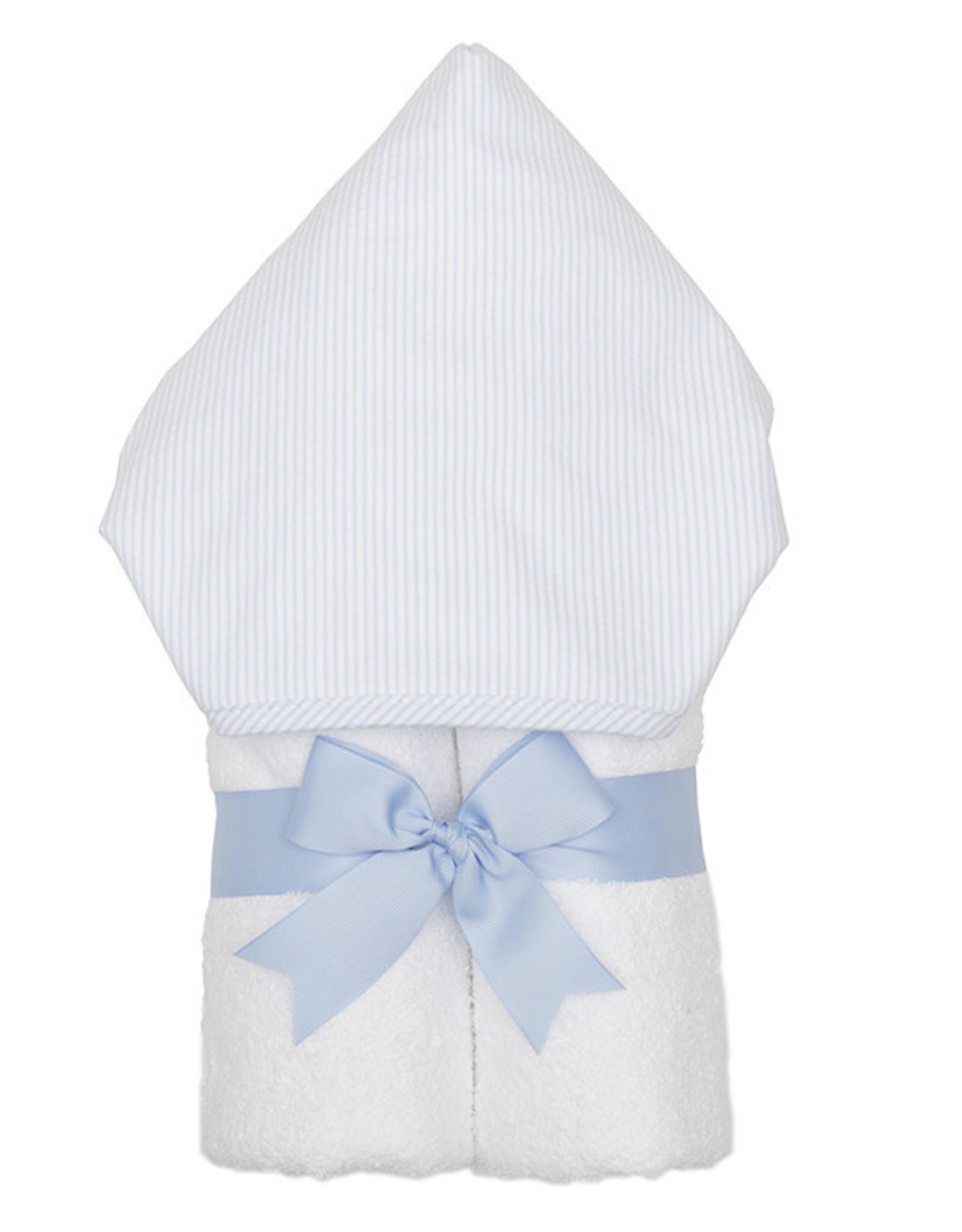 Three Marthas Everykid Towel Blue Seersucker