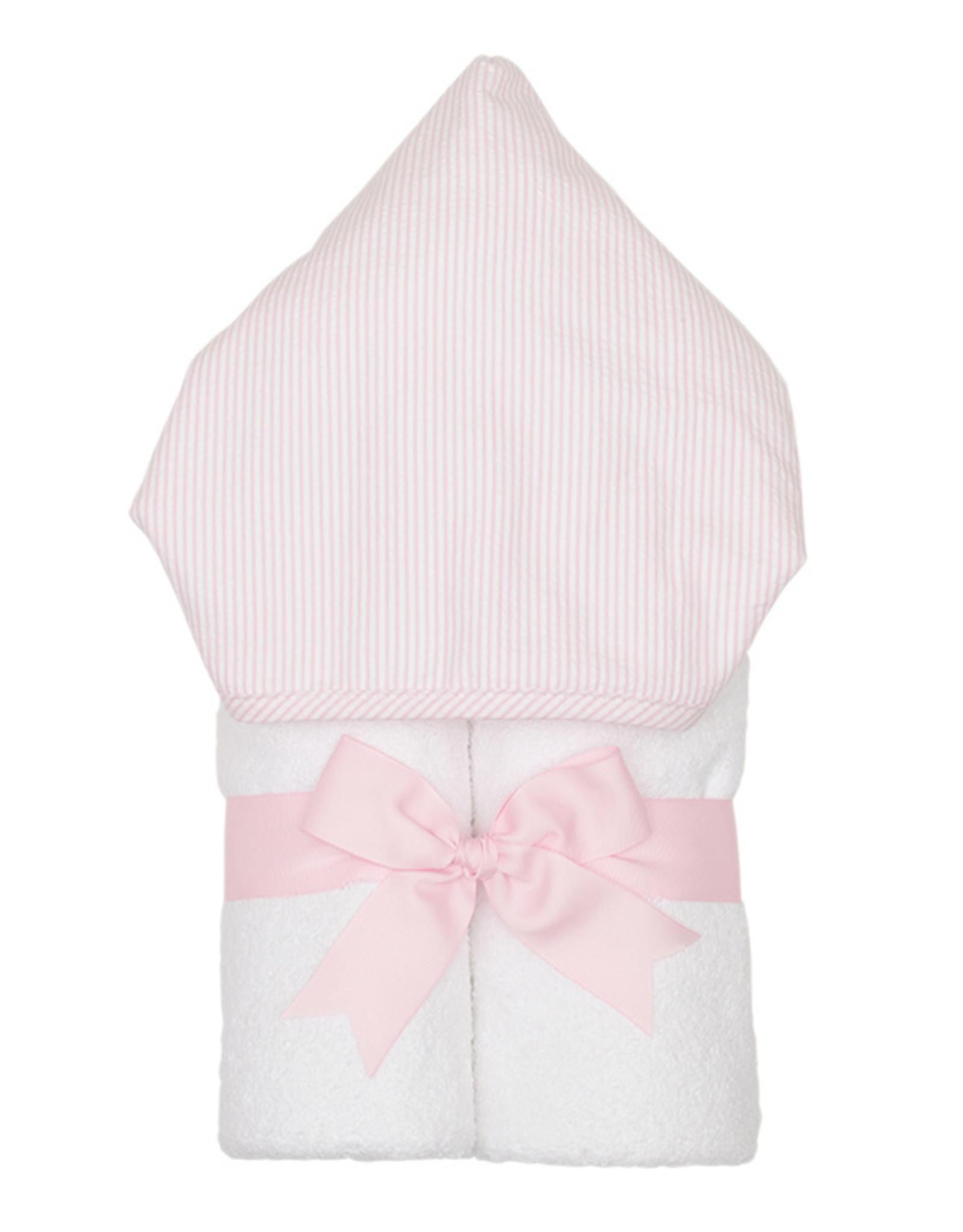 Three Marthas Everykid Towel Pink Seersucker
