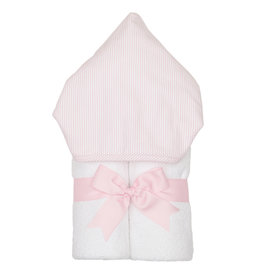 Three Marthas Everykid Towel Pink Seersucker