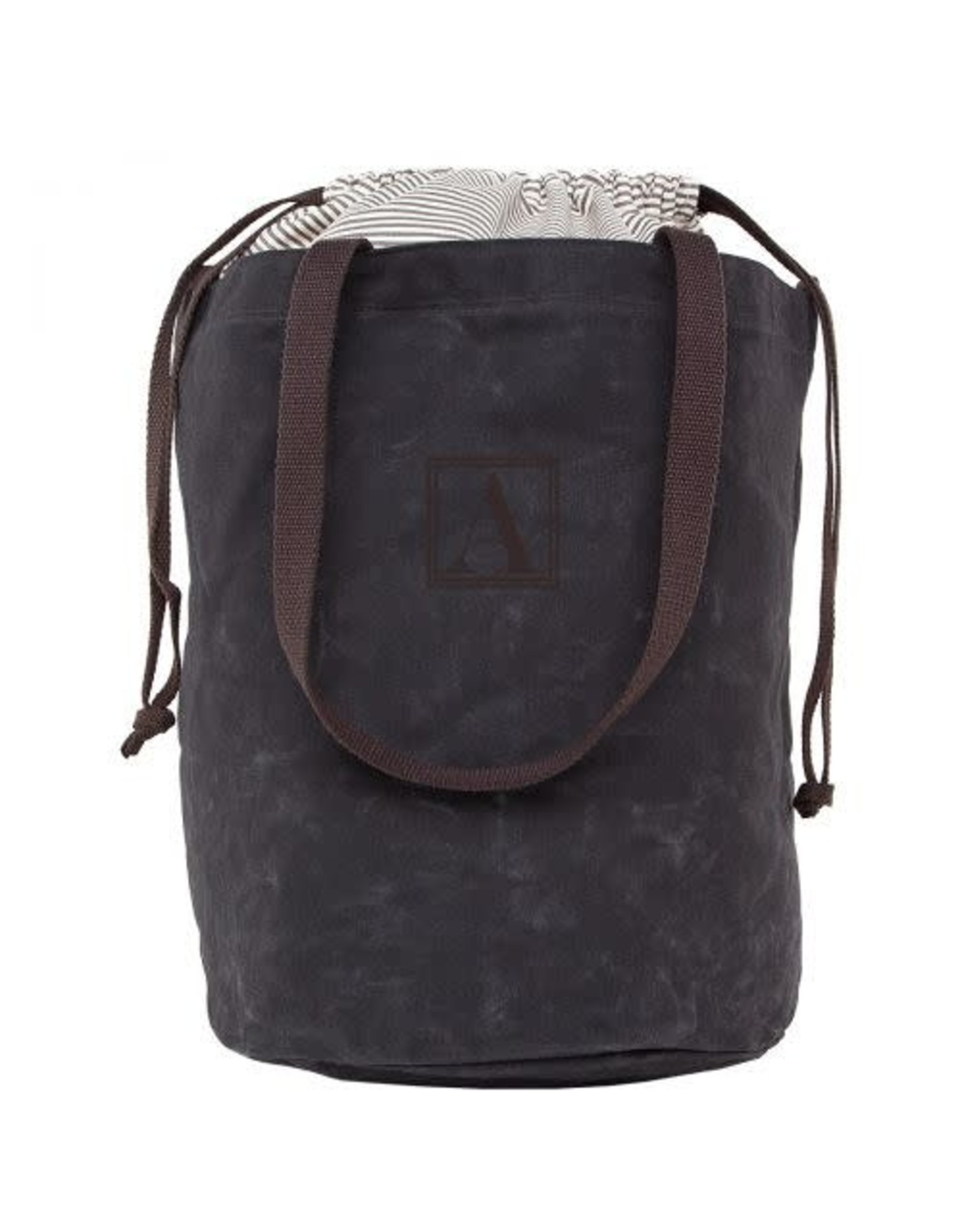 Laundry Duffel Waxed Cotton Black